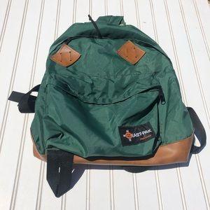 Vintage Eastpak Backpack With Original Bag